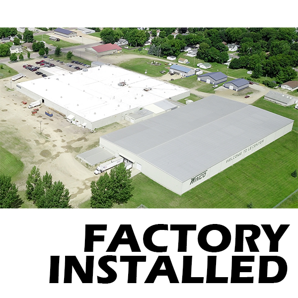 factory installed