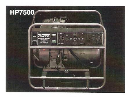 Support for model hp7500a winco inc support for model hp7500a winco high performance portable 75kw generator swarovskicordoba Gallery